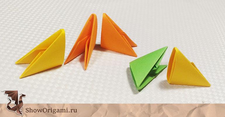 Как сделать модуль из бумаги